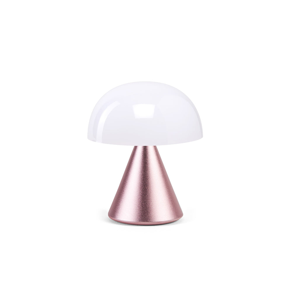 Lexon Mina Led Lamp in light pink