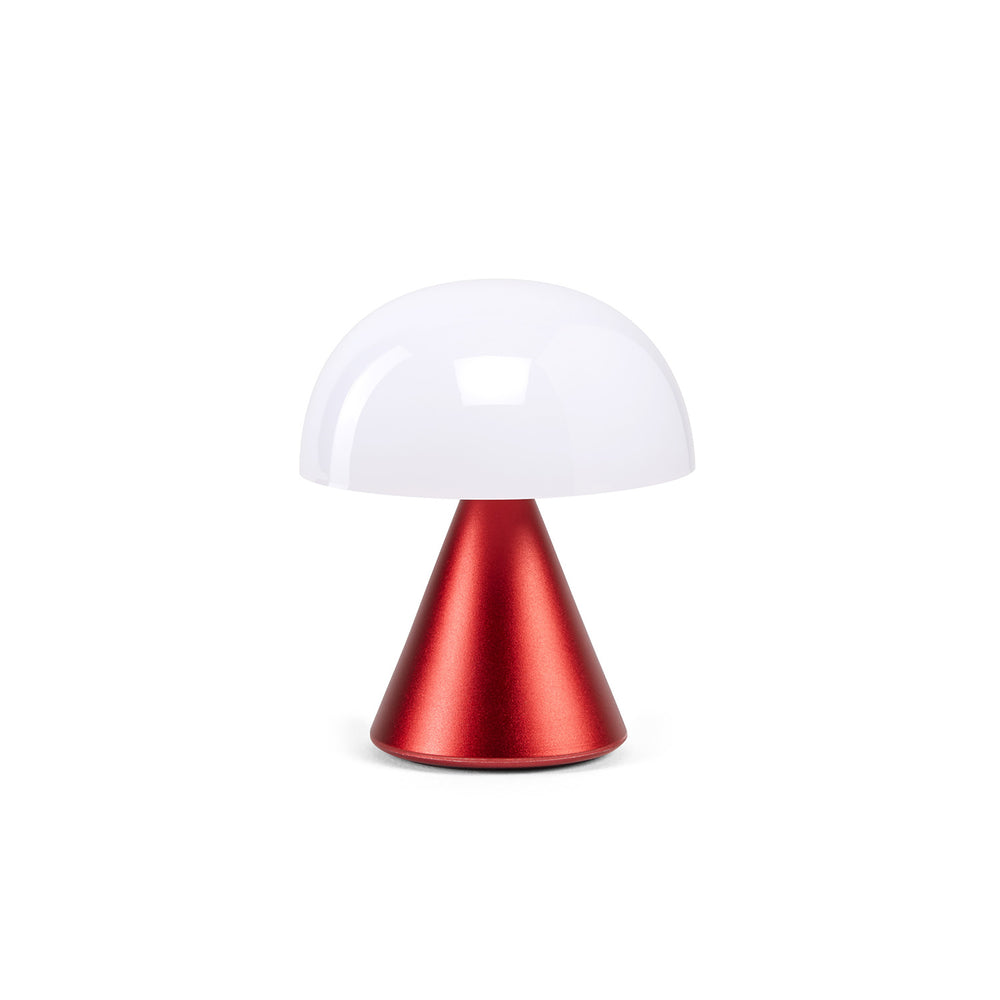 Lexon Mina Led Lamp in red