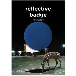 OREFLECTOR Reflective Badge Mini packaging