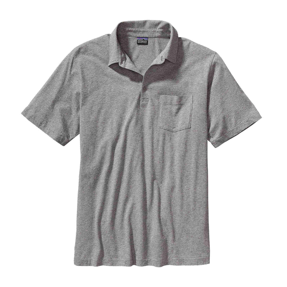 Patagonia Men's Squeaky Clean Polo in grey