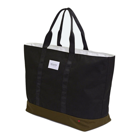 State Douglass Tote in black