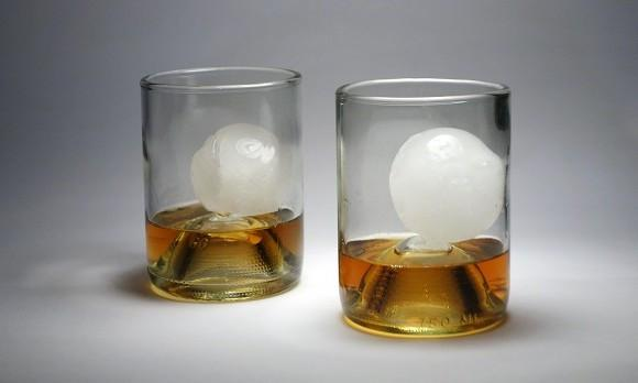 Recycled Bourbon Glasses - Set of 4 // 12 oz