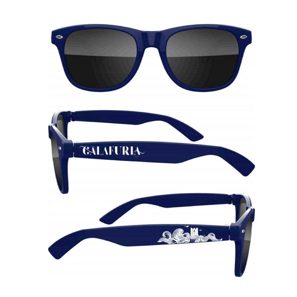 Retro Blue Sunglasses // Calafuria