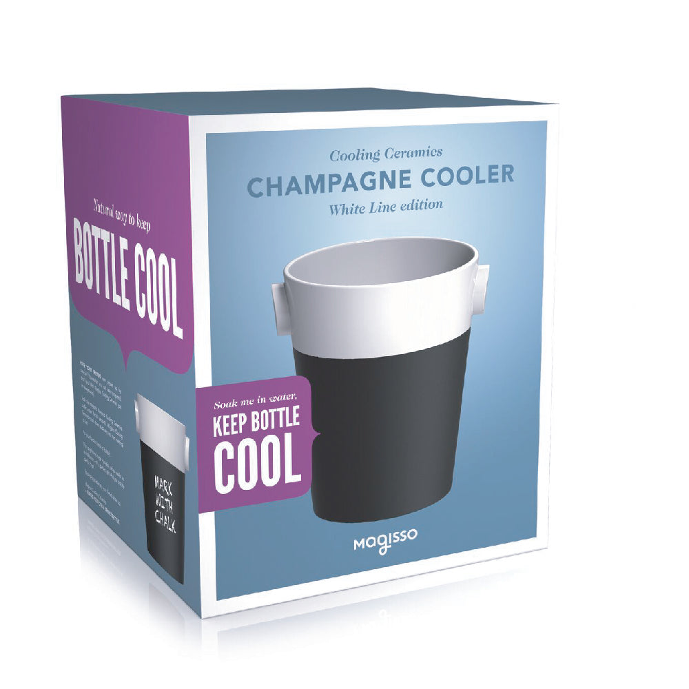Magisso Champagne Cooler white packaging