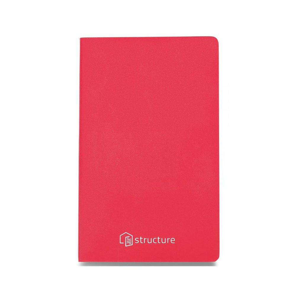 Moleskine Soft Cover Journal in red