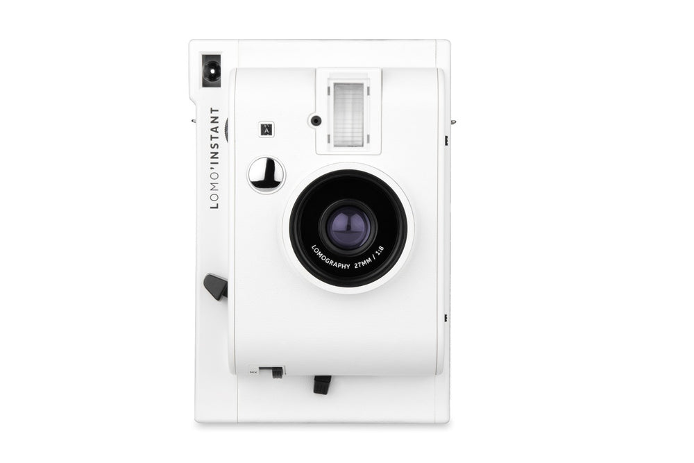 Lomo'Instant Camera // White Edition