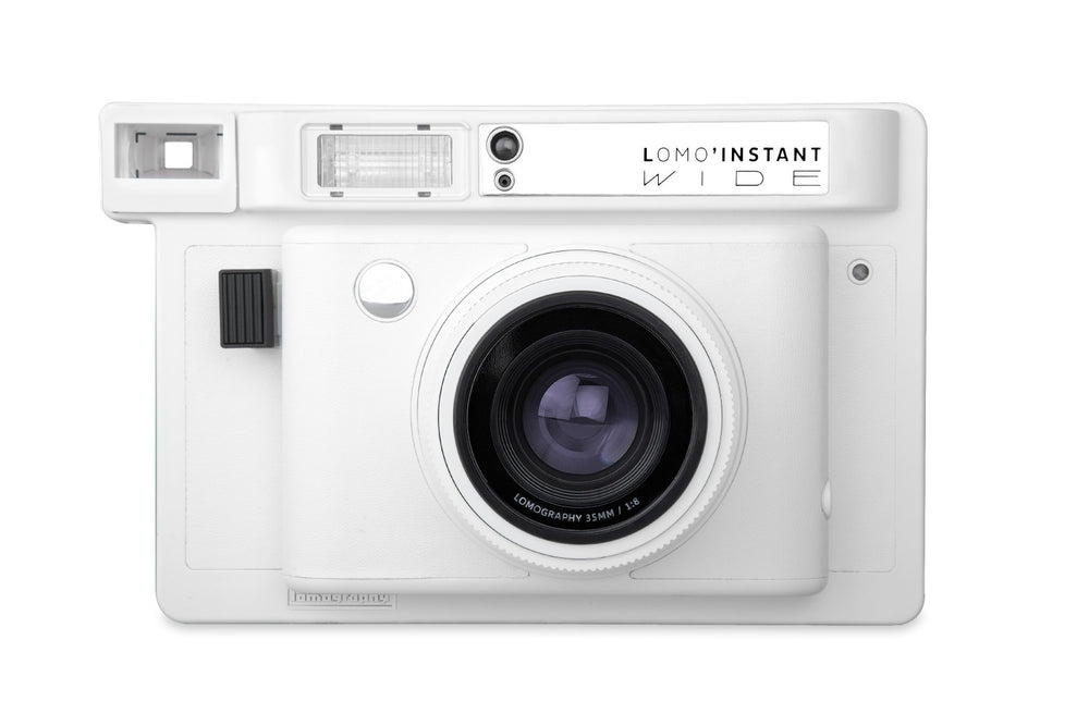 Lomo'instant Wide Camera // White Edition