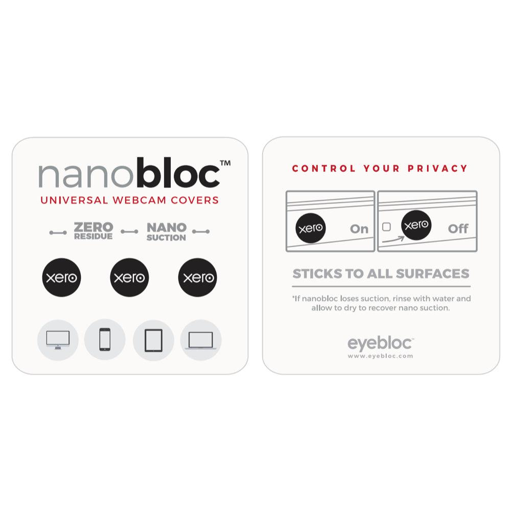 NanoBloc Universal Webcam Covers