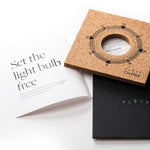 Flyte Nikola floating bulb packaging