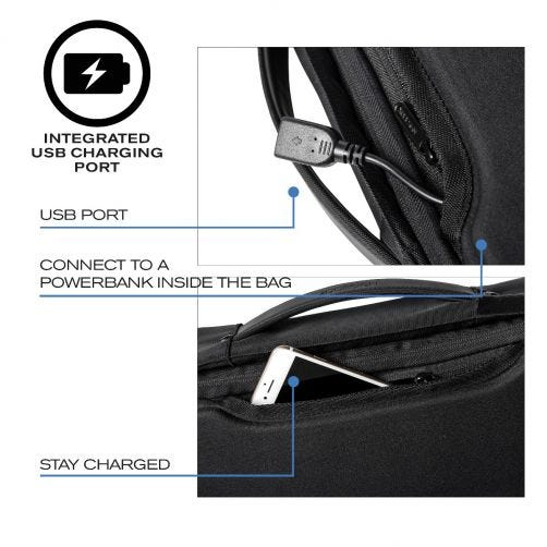 Bobby Bizz Anti-Theft Backpack