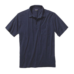 Patagonia Men's Squeaky Clean Polo in navy
