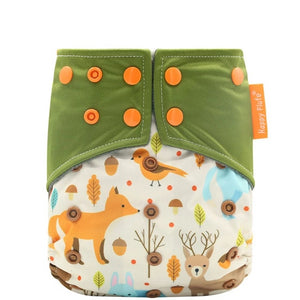 Autumn Friends Pocket Diaper