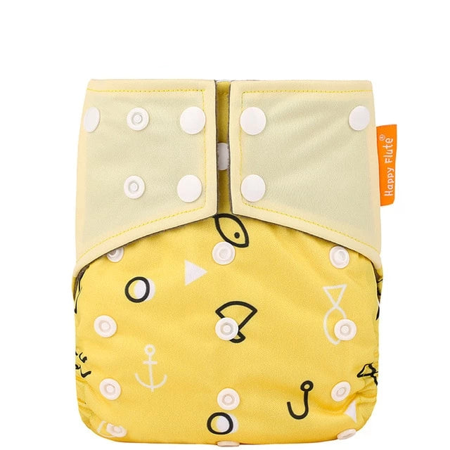 Anchors and Fishes Pocket Diaper