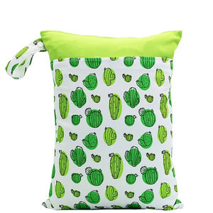 Lime Cactus Wet Bag