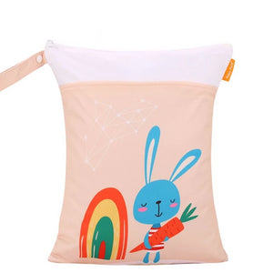 Rainbow Rabbit Wet Bag
