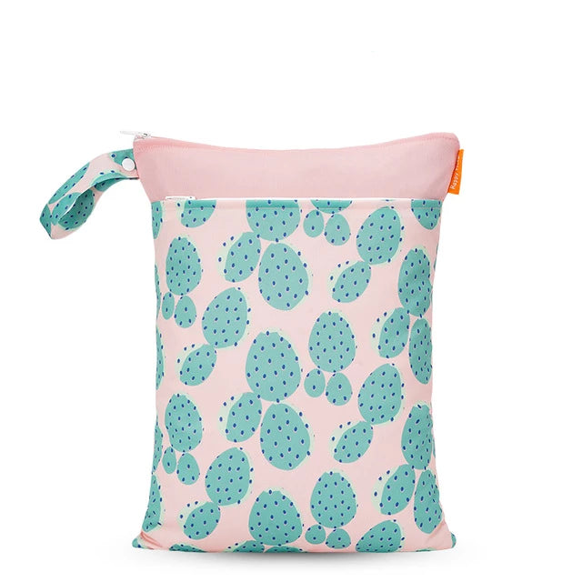 Pink Cactus Wet Bag