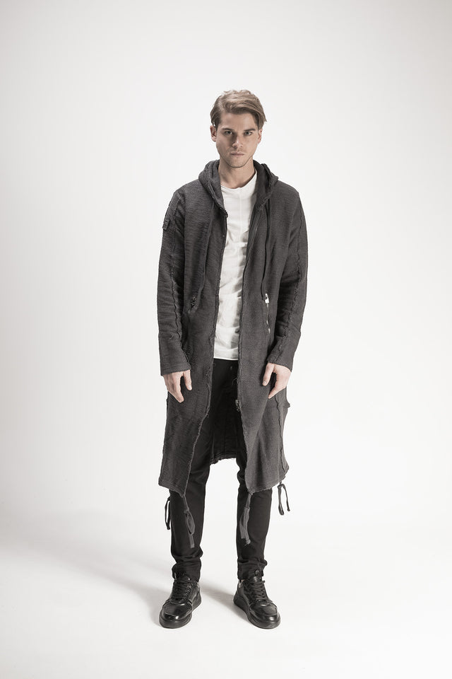Hooded Long Cardigan //BM16-10951-2