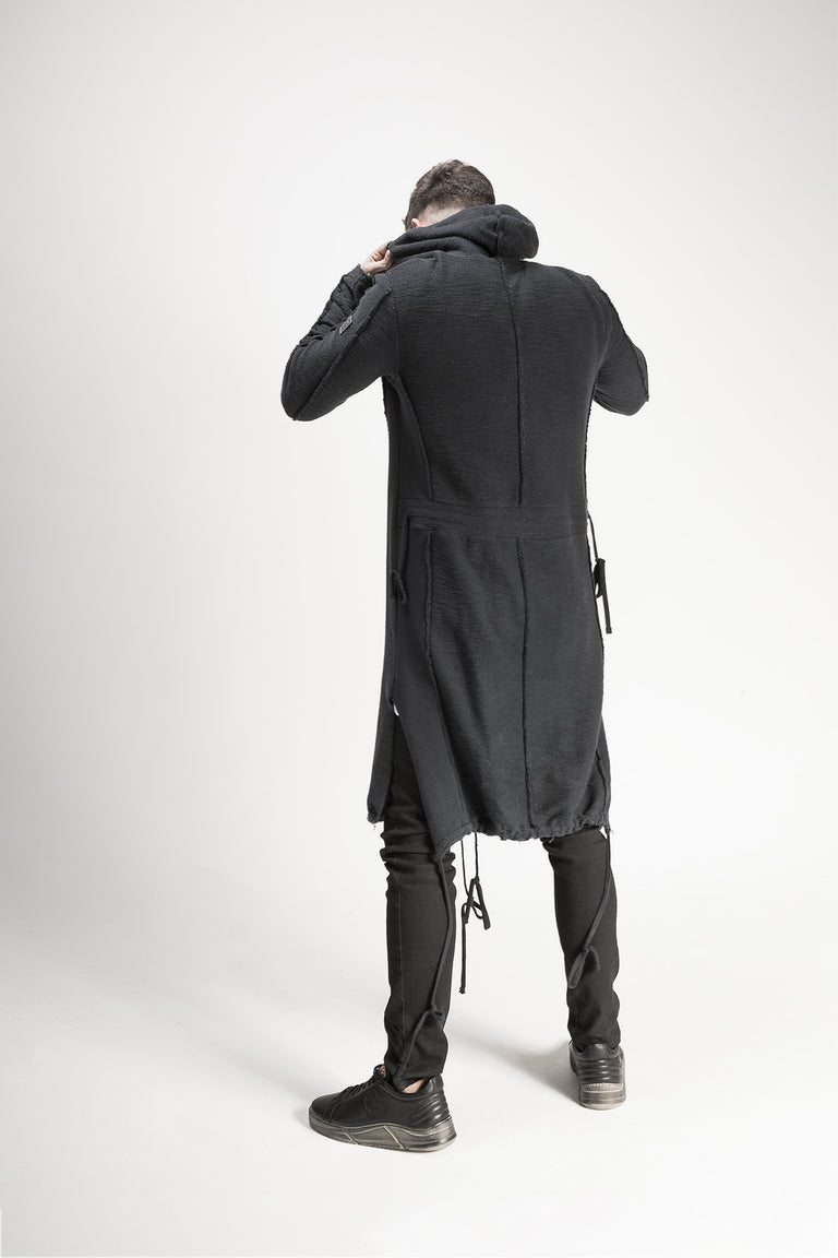 Hooded Long Cardigan //BM16-10951
