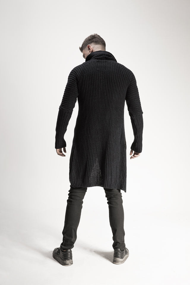 Hooded Turtleneck Cardigan //BM16-3009