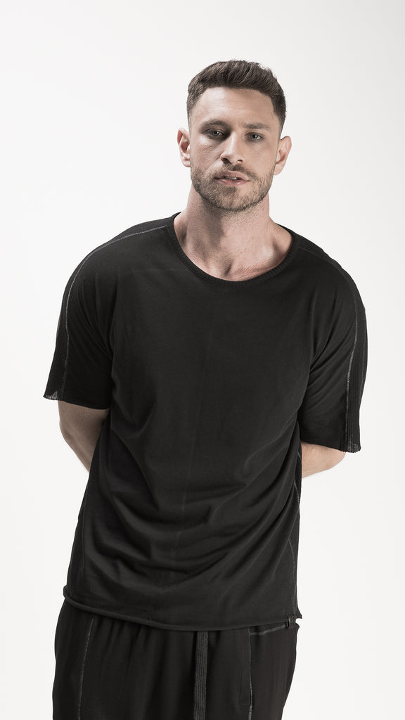 Barbarossa Moratti | Men's Avant-Garde Fashion T-Shirt