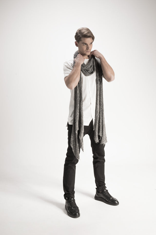 Thin Woven Scarf