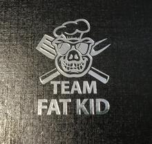 Load image into Gallery viewer, Team Fat Kid Pakka wood handle Chef Knife