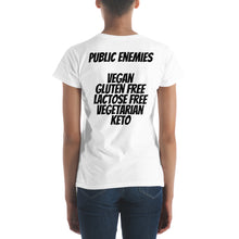 Load image into Gallery viewer, TFK Public Enemies Women's short sleeve t-shirt