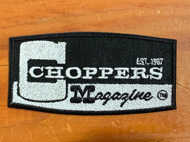 Choppers Logo Sew on Patch