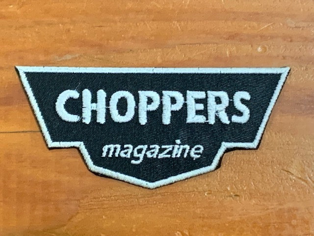 Choppers Wing Sew on Patch