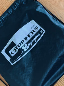 Choppers Badge Drawstring Backpack