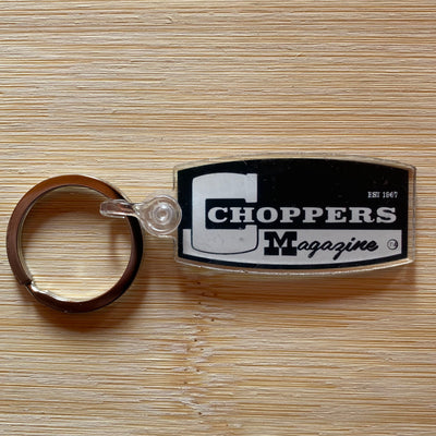 Choppers Badge Keychain