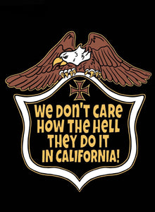 We Don't Care California