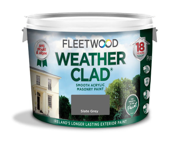 Fleetwood Weather Clad Slate Grey 10Ltr
