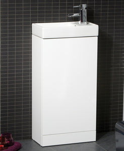 Sonas Basle 40Cm White - Special Offer* - Includes Tap And Waste