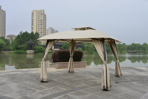 Steel Square Gazebo