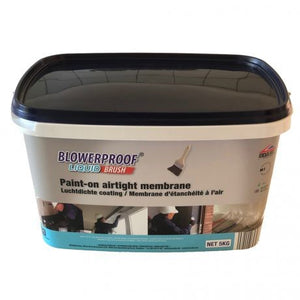 5KG BLOWERPROOF BRUSH-ON Liquid Airtight Membrane BBA approved