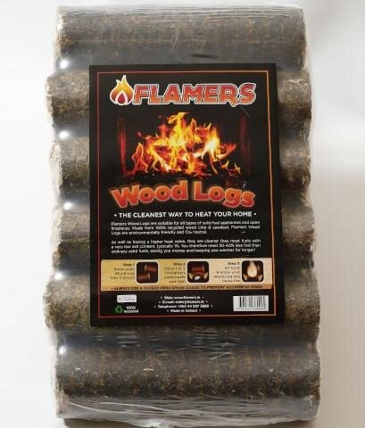 Flamers Premium Woodlogs Six Pack