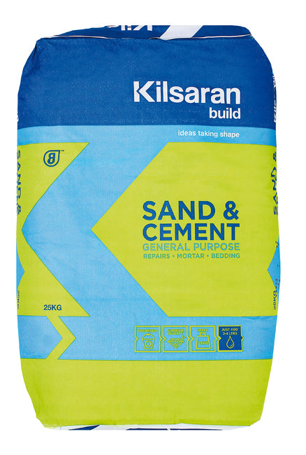 Kilsaran Sand & Cement 25Kg Bag