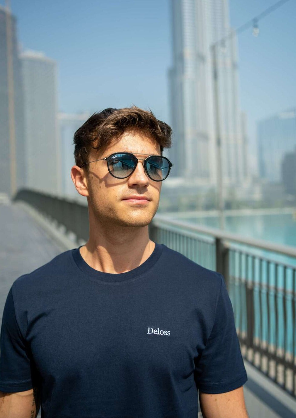 Deloss Summer Collection T-Shirt - Blau