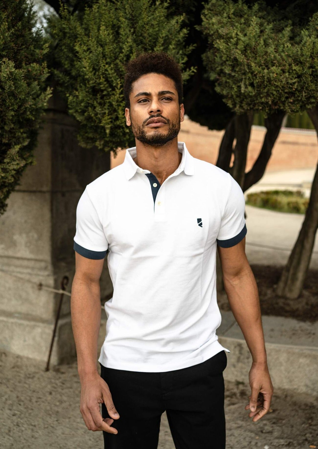 Deloss Premium Polo Collection - Weiß