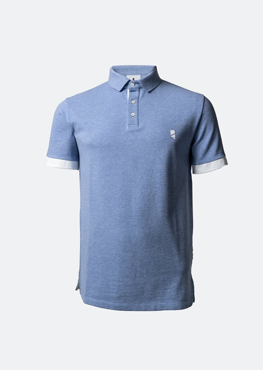 Deloss Premium Polo Collection - Hellblau