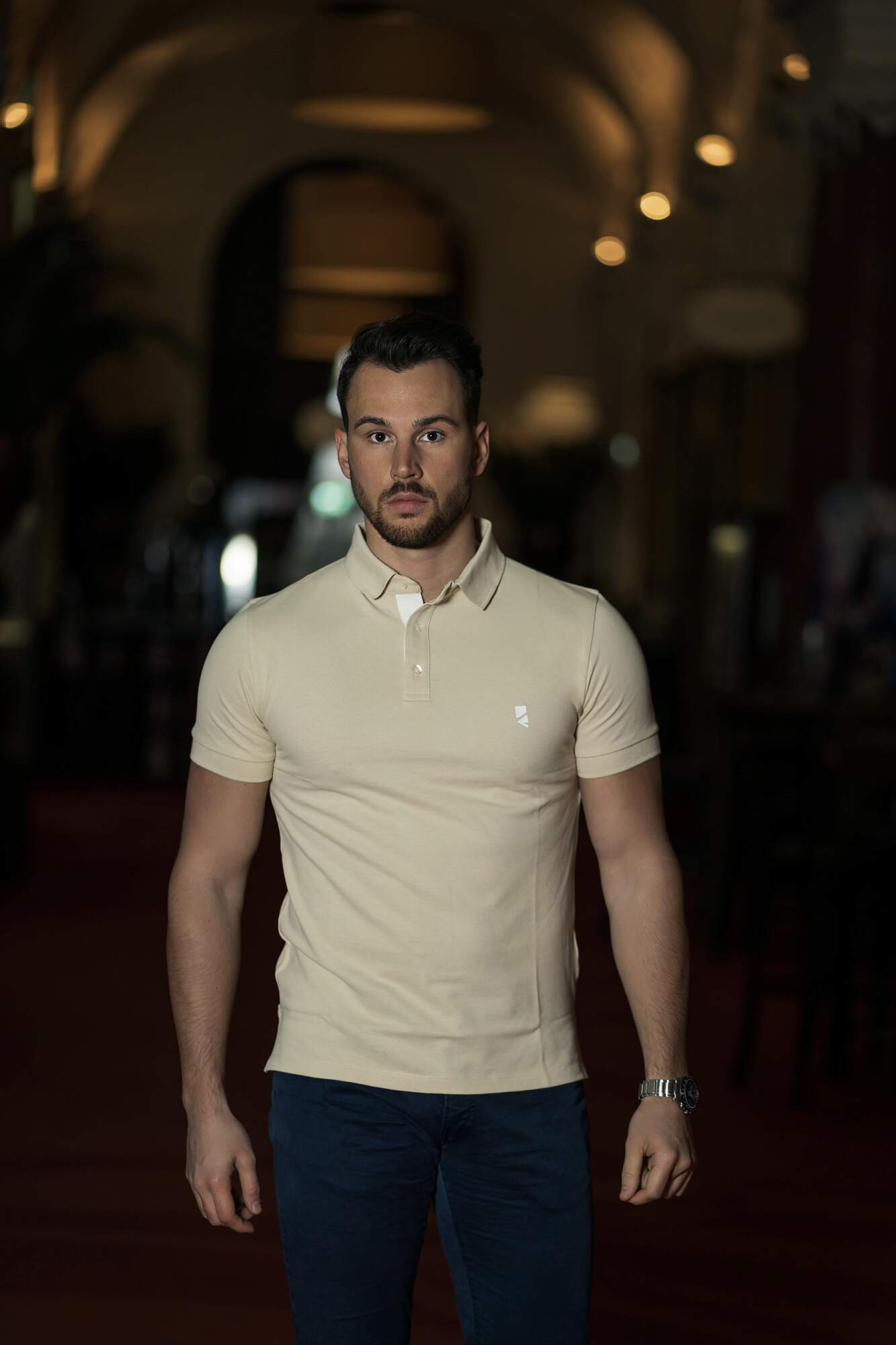 Deloss Premium Polo Collection - Beige