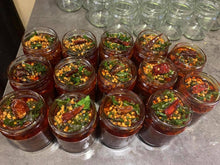 Load image into Gallery viewer, many jars of chilli and tamarind chutney