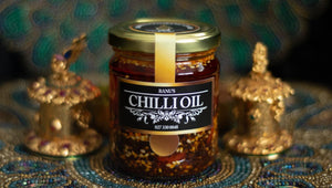 Small 200ml Jar of Banu's Chilli Oil