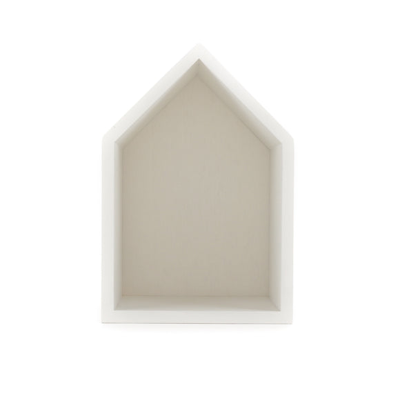 Wooden House - White