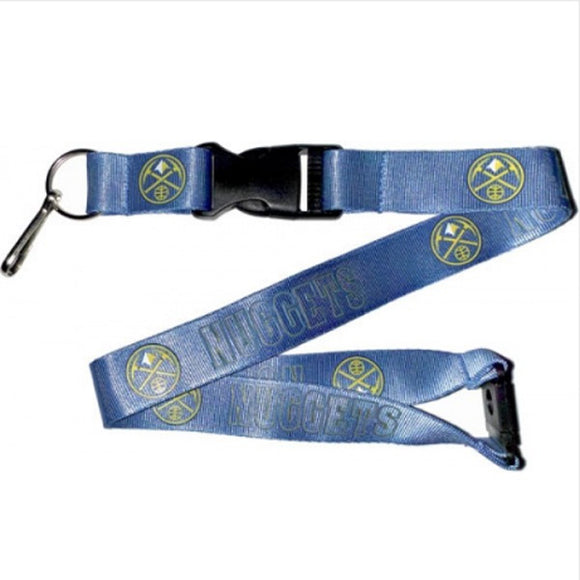 Denver Nuggets Lanyard Blue