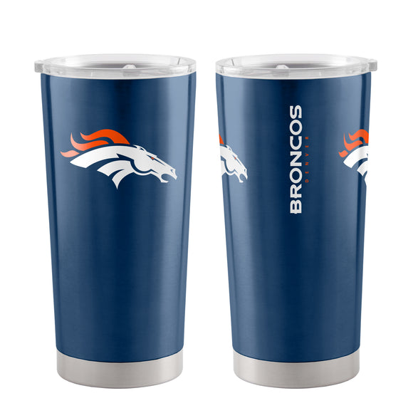 Denver Broncos Travel Tumbler 20oz Ultra Navy