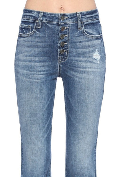 Demi Flare Denim