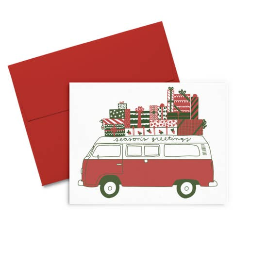 Greeting Van Card