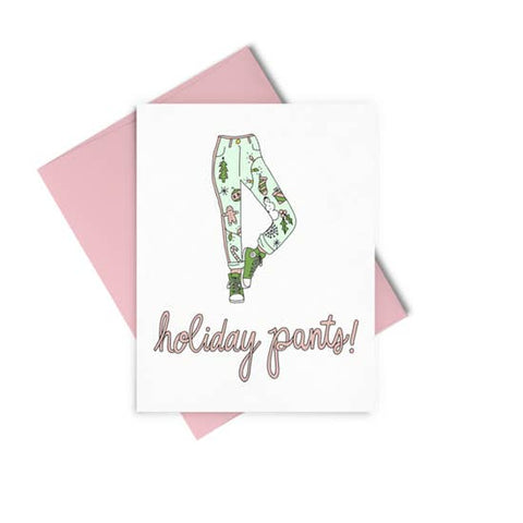 Holiday Pants Card